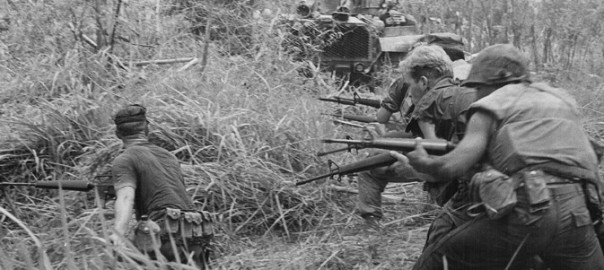 U.S. Marines in Operation Allen Brook